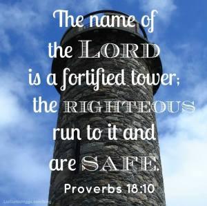 Proverbs 18.10