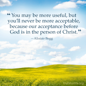 Acceptance from God