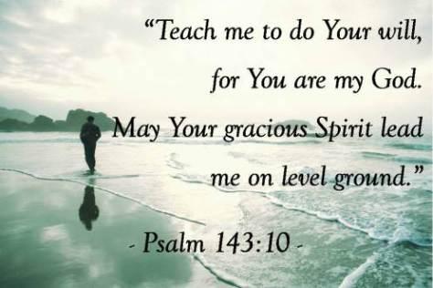 Psalm 143:10, Sandra Brooks McCravy, Sandi McCravy, Sandy McCravy, Greg McCravy, Derek McCravy, Johnathan McCravy
